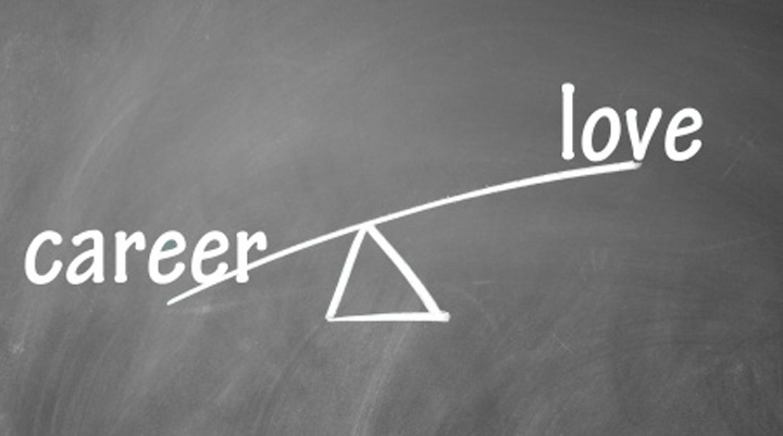 How to balance love and career?